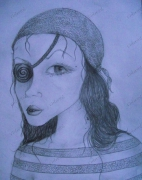 dessin personnages : Pirate