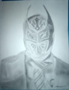 dessin personnages sin cara catcheur : Sin Cara