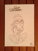 dessin personnages wax taylor : WAX TAYLOR