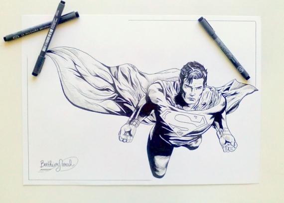 dessin superman comics marvel dessin superman personnages feutre dessin superman comics bd au - Dessin Marvel