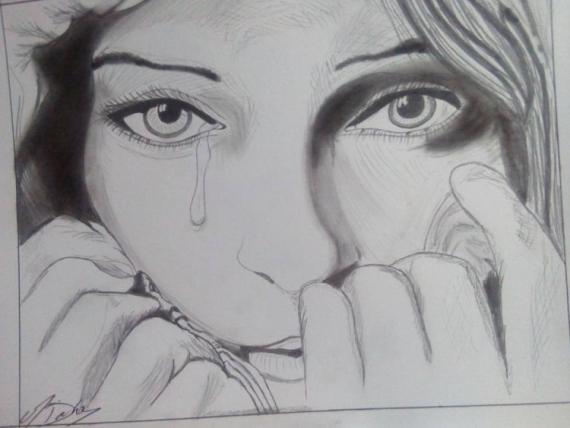 Dessin un peu triste un peu triste - Dessins triste ...