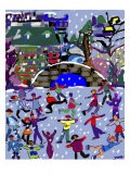 Ice Skaters II - Diana Ong