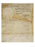 Document Constituting the Proclamation of the Louisiana Purchase, Dated 1803