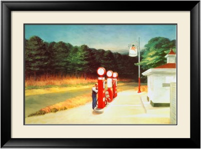 Edward Hopper - Gas 1940