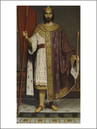 philippe ii dit philippe auguste roi de france en 1180 1165 1223 reprsent crois en 1190. Black Bedroom Furniture Sets. Home Design Ideas