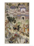 Mughal Emperor Akbar Enters Surat Gujerat after an Astonishingly Rapid 11-Day Campaign - Farrukh Beg