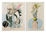 Caricatures of Victor Hugo - Faustin