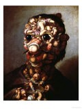 A Head Formed Out of Pygmies - Faustino Bocchi