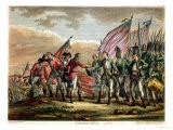The Surrender of General John Burgoyne at the Battle of Saratoga, 7th October 1777 - Fauvel