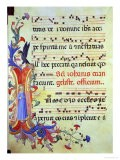 "Historiated Initial ""I"" Depicting St. John the Evangelist - Fra Angelico"