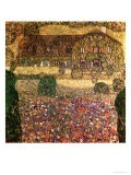 Country House by the Attersee, circa 1914 - Gustav Klimt