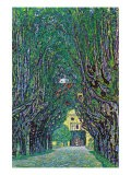 Way To The Park - Gustav Klimt