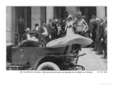 Erzherzog Franz Ferdinand and His Wife Leave Sarajevo Town Hall for Their Last Car Ride - Haeckel