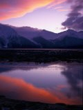 Sunset on Turnagain Arm, South Central Alaska - Hal Gage