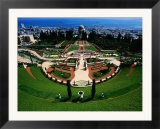 Bahai Shrine and Garden on Mount Carmel - Hanan Isachar