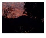 Mt Tam Vivid Sunset - Hank Miller