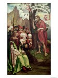 St. John the Baptist Preaching Before Herod, from the Triptych of St. John, 1514 - Hans Fries