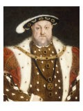 Portrait d'Henry VIII - Hans Holbein