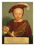 Portrait of Edward Prince of Wales, Later Edward VI, as a Child - Hans Holbein the Younger