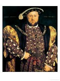 Portrait of Henry VIII (1491-1547) Aged 49, 1540 - Hans Holbein the Younger