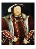 Portrait of King Henry VIII - Hans Holbein the Younger