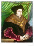 Portrait of Sir Thomas More - Hans Holbein the Younger