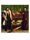The French Ambassadors of King Henry II at the Court of the English King Henry VIII - Hans Holbein the Younger