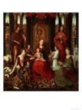 Mystic Marriage of St. Catherine and Other Saints - Hans Memling