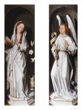 The Annunciation (Two Exterior Panels of a Triptych), circa 1472 - Hans Memling