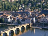 Old Town, Old Bridge and River Neckar, Heidelberg, Baden-Wurttemberg, Germany - Hans Peter Merten