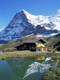 The Eiger, Kleine Scheidegg, Bernese Oberland, Swiss Alps, Switzerland - Hans Peter Merten