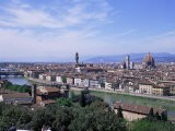 View of City from Piazzale Michelangelo, Florence, Tuscany, Italy - Hans Peter Merten
