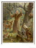 Saint Francis of Assisi, Preaching to the Animals - Hans Stubenrauch