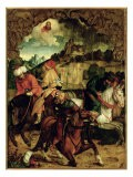 The Conversion of St. Paul, from a Polyptych Depicting Scenes from the Lives of Ss. Peter and Paul - Hans Suess Kulmbach
