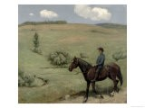 Rider in a Landscape, 1894 - Hans Thoma