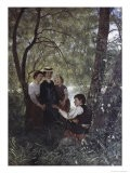 Singing in the Garden - Hans Thoma