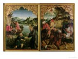 Stories of S.S. Peter and Paul Altarpiece: Vocation of St. Peter, Conversion of St. Paul - Hans Von Kulmbach