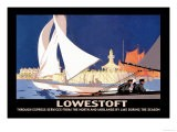 Lowestoft: Through Express Services from the North and Midlands by LMS - Hap Hadley