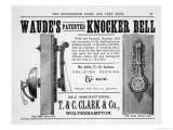Waude's Patented Knocker Bell - Hare