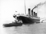 The Titanic Leaving Belfast Ireland for Southampton England for Its Maiden Voyage New York Usa - Harland & Wolff