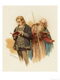 Hamlet with Polonius - Harold Copping