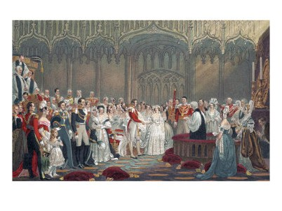 Pictures Of Queen Victoria And Prince Albert. Harold Copping - Queen