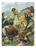 Sermon on the Mount, 1922 - Harold Copping