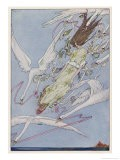 The Princess Carried by the Swans - Harry Clarke