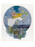 One Moonlight Night the Fairies Came Flying In - Harry G. Theaker