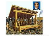 The Massive Gallows Built on Judge Parker's Orders Which Could Have 12 Men at a Time - Harry Green