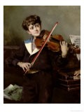 The Violinist - Harry Humphrey Moore
