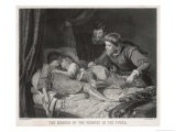 Edward V and Richard Duke of York Lying Dead in the Tower of London - Harry Payne