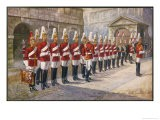Parade of the First Life Guards in Whitehall - Harry Payne