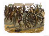 Sgt.Patrick Mullane Rescues a Gun-Carriage Driver at the Battle of Maiwand - Harry Payne